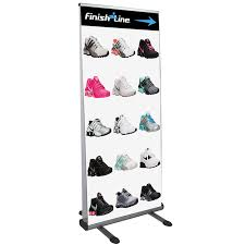 Just The Right Shoe Display Stand Outdoor Displays Booths Signage APG Exhibits 96