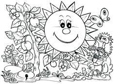 248 Inspiring Spring Coloring Pages Images In 2019 Coloring Pages