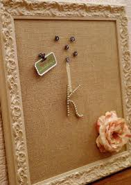 shabby chic burlap pin board diy burlap bulletin board