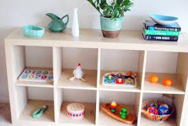 Toy Organization For Living Room Feeding The Soil Montessori Home Tour Living Room