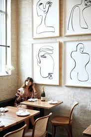 cafe arte wall st