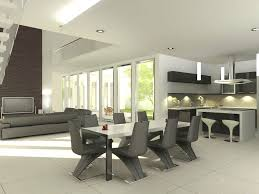 white modern dining room sets. Dining Room Glass Top Table Contemporary Sets White Modern Oval Painting On The Wall Natural Finished