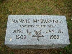 Nannie (BaBa) Mack Warfield (1909-1989) - Find A Grave Memorial