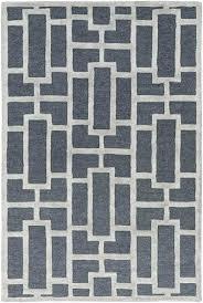 modern geometric rug arise navy ivory geometric rug modern rug artistic weavers modern geometric rugs uk