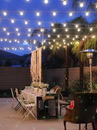 Outdoor Patio Lighting Options Outdoor Patio Small String Lights Strand Lighting Woohome