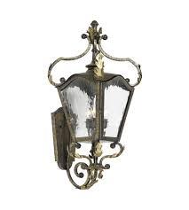 french outdoor lighting. elk lighting french quarter 3 light outdoor sconce in castle bronze 5781cb photo g