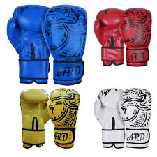 ard art leather boxing gloves fight punching bag mma muay thai kickboxing