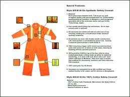 Cintas Coverall Size Chart Style 800 R Coverall