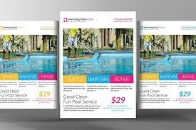 pool service flyers. Swimming Pool Cleaning Service Flyer - Flyers 1 Pool Service Flyers Y