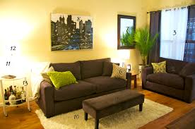 Living Room Ideas Green And Brown