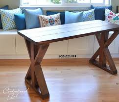 This is an easy build for a beginning diy'er and the dark colored finish is a unique style. 20 Diy X Leg Furniture Project Ideas Anika S Diy Life