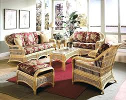 sunroom wicker furniture. Wicker Sunroom Furniture Sets Image Of With Cushions  .