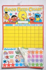 Good Deed Chart Details About Esa3083 Sesame Street Good Deed Chart Write N Play Colorforms 1992 Unopened