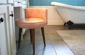 vanity stools and chairs. Bathroom Vanity Stools Chairs Cabinet Medium Size Modern Wheels Makeup White Metal Bronze Bench Ideas And H