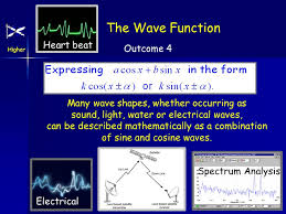 is a wave function connection with trig identities earlier maximum and minimum values exam type questions solving equations involving the wave function