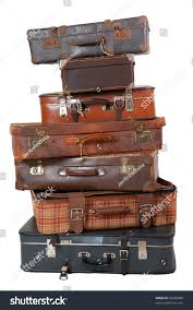Old Suitcases Pile Old Vintage Suitcases Luggage Stock Photo 69330988 Shutterstock