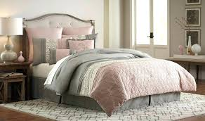 rose colored bedding dusty pink comforter blush sets and nursery decor grey white crib gray