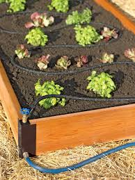 Raised Bed Soaker Systems Raised Bed Irrigation Gardener S Supply