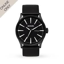 17 best ideas about mens nixon watches nixon mens nixon the sentry leather watch nixon watches at goldsmiths