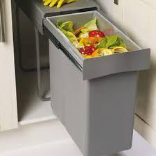 Image is loading Kitchen-Waste-Bin-300mm-Unit-40L-Large-Single-