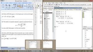 MATLAB – 06 – M-files (Script files) – Part 2 | Hosting and Scripts