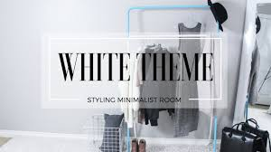 ALL WHITE BEDROOM - YouTube
