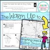 Check out the warm up to… graphing lines & killing zombies students must find slope from a graph, slope from a table, and equation of a line from a graph to complete the puzzle.important informationthis warm up is designed to lead into 05.09.2020 · your students can learn how to find. Graphing Lines And Killing Zombies Worksheets Teaching Resources Tpt