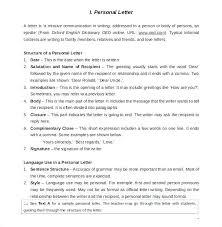 Resignation Letter In English Short Personal Letter Sample