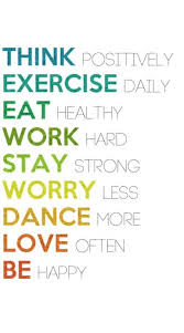 Motivational Health Quotes Unique Fitness Motivational Quotes Think Positively Exercise Daily Eat