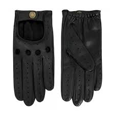 dents black leather driving gloves 5 1011