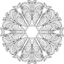 Small Picture 26 best Mandala Coloring Pages images on Pinterest Coloring