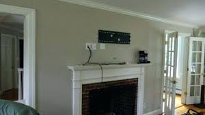 installing tv above fireplace fabulous how to mount a over brick fireplace and hide the wires
