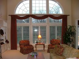 Living Room Window Treatment Glamorous Window Curtain Ideas Large Windows