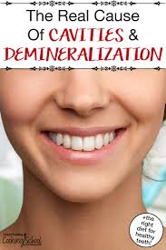 Once the tannins seep through the enamel, they much more difficult to remove. The Real Cause Of Cavities The Right Diet For Healthy Teeth