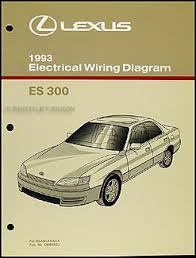 1993 lexus es 300 wiring diagram manual original