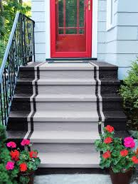 how to paint concrete stairs