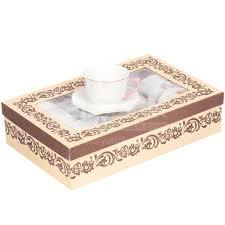 Сервиз <b>чайный</b> из фарфора, <b>12</b> предметов, в подарочной ...