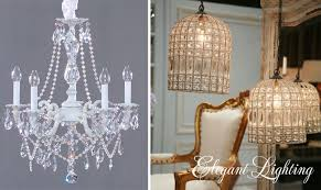french country shabby chic lighting