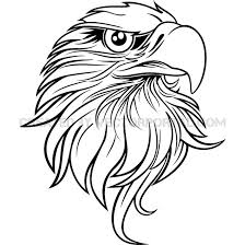 bald eagle template bald eagle easy drawing at getdrawings com free for personal use