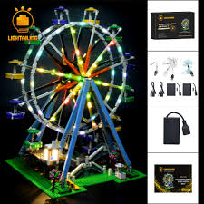 Wheel Light Kit Us 77 99 45 Off Lightailing Led Light Kit For Creator Ferris Wheel Light Set Compatible With 10247 Not Include The Model In Blocks From Toys