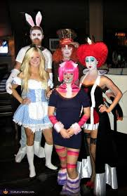 group costume ideas alice in wonderland costumes