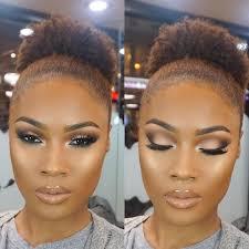 brillant dark skin makeup estilo de maquillaje para piel oscura
