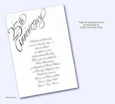 25th anniversary invitation wording wedding anniversary invitations wording in awesome wedding anniversary invitation wording