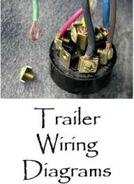 trailer light plug wiring diagrams rveethereyet com 1