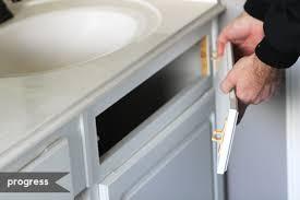 adding shelves in bathroom cabinets