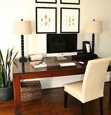 Re-purpose a dining room table into a desk.