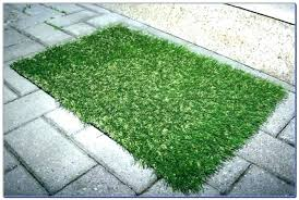 faux grass rug home depot artificial marvelous that looks like outdoor fake