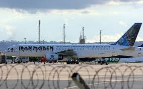 Where Is The <b>Iron Maiden</b> Boeing 757 Now? - Simple Flying
