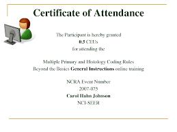 Certificate Of Attendance Template Word Free 11 Elrey De Bodas