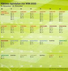Maybe you would like to learn more about one of these? Weltmeisterschaft 2022 In Katar Mit 48 Teams Sechs Spiele Zum 1 Advent Der Spiegel